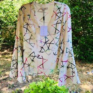 Alexis flounce blouse Nemisis UK collection Sz XS